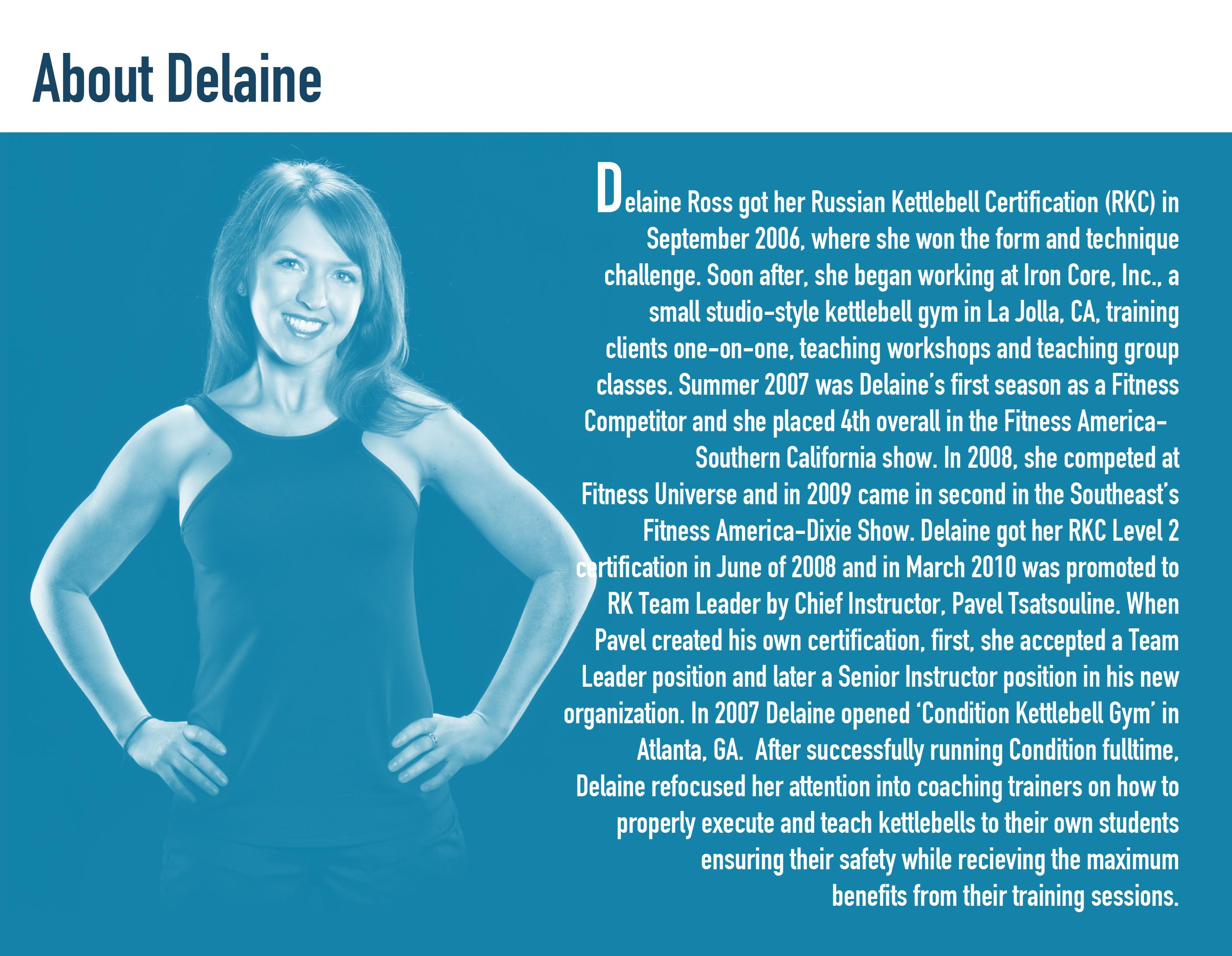 about delaine